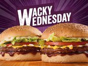Wacky Wednesday Promo Mobile